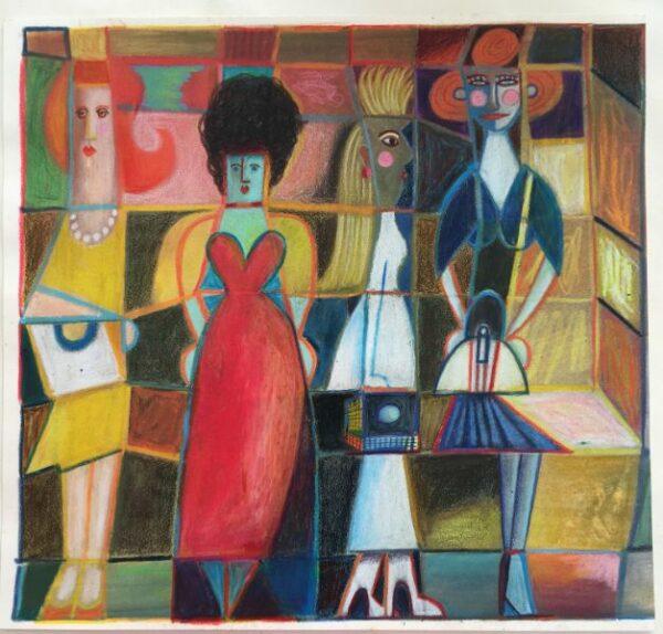 4 Women on a Train
